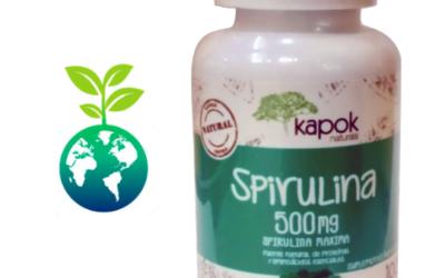Spirulina Capsulas 500 mg