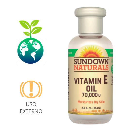 Aceite de Vitamina E 70000 UI