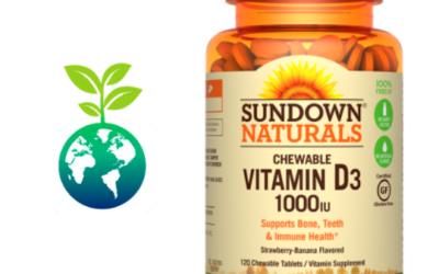 Vitamina D3 1000IU Masticable