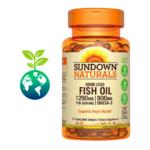 Odor – Less Fish Oil 1200 mg