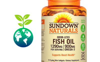 Odor – Less Fish Oil 1200 mg