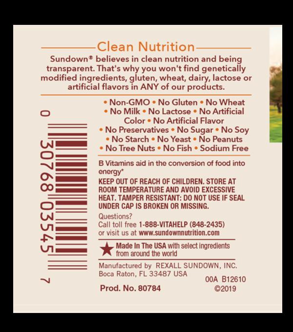 b12 1000 label