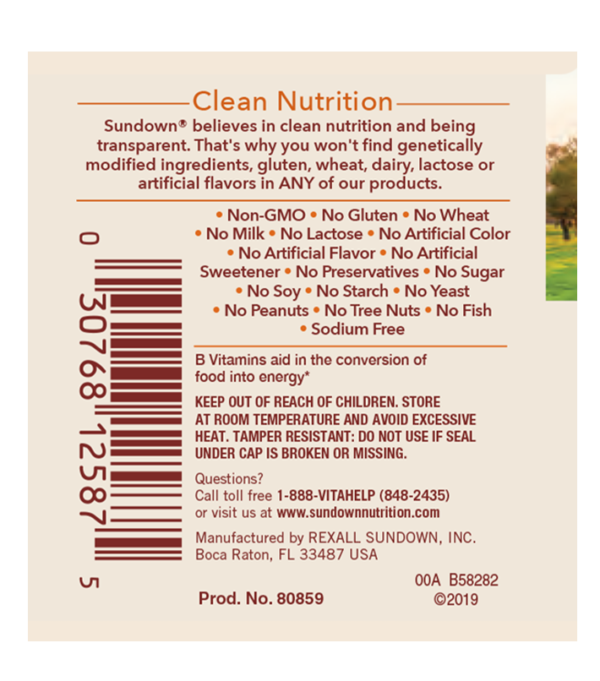 b5 50 mg label b