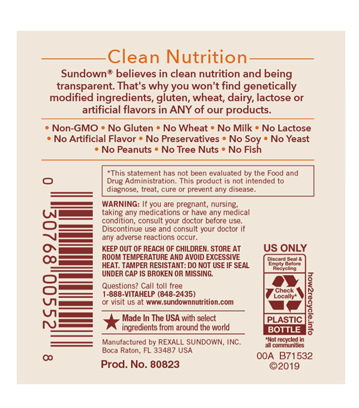 vitamina c mastibable label